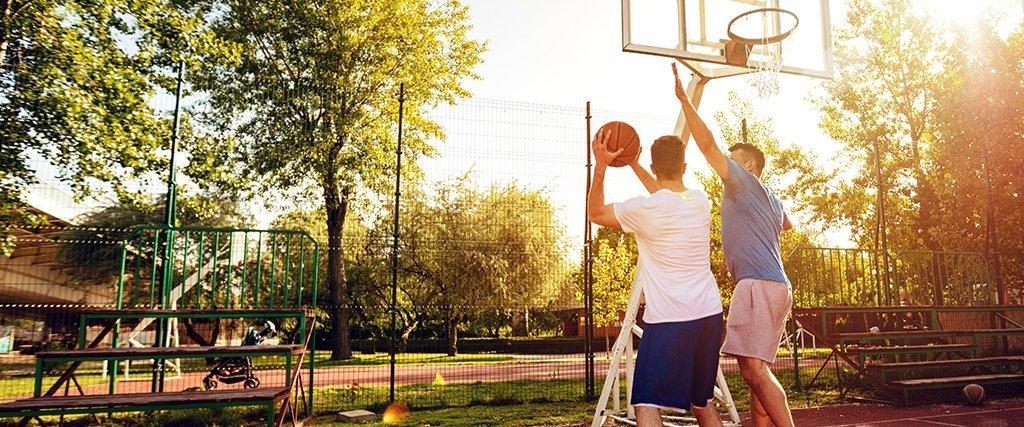 Protector dental al practicar deporte