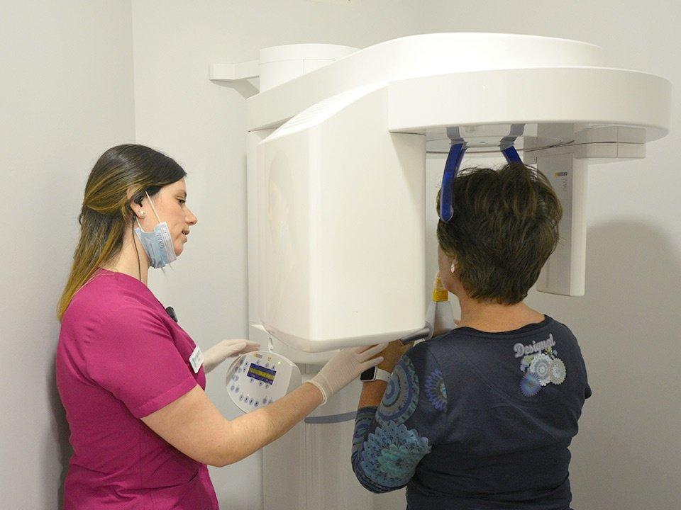 Radiografía 3D Pantomografía